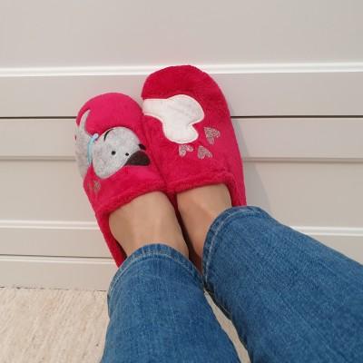 Marpen dámske papuče Psík s kostičkou