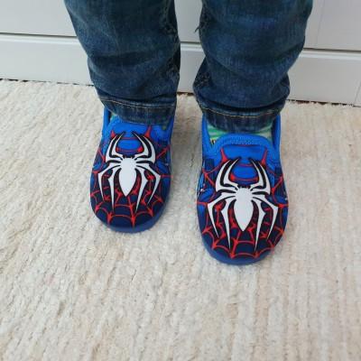 Alcalde voňavé chlapčenské detské papuče Spiderman Azul