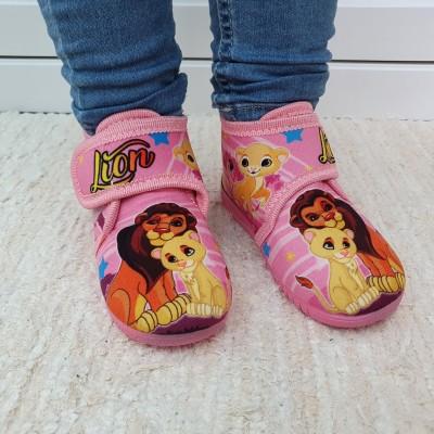 Alcalde voňavé dievčenské detské papuče Leví kráľ  Rosa