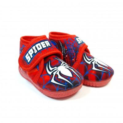 Alcalde voňavé chlapčenské detské papuče Spiderman Rojo