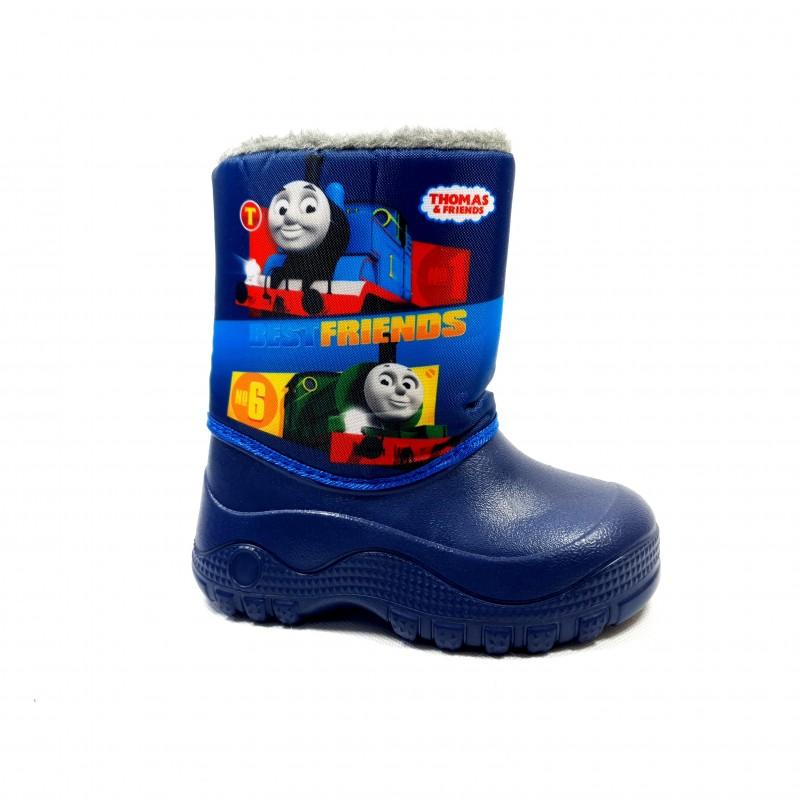 Chlapčenské detské zimné snehule Vláčik Tomáš Thomas & Friends + ponožky Disney