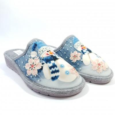 Ružička dámske papuče Snehuliak 26 Blu